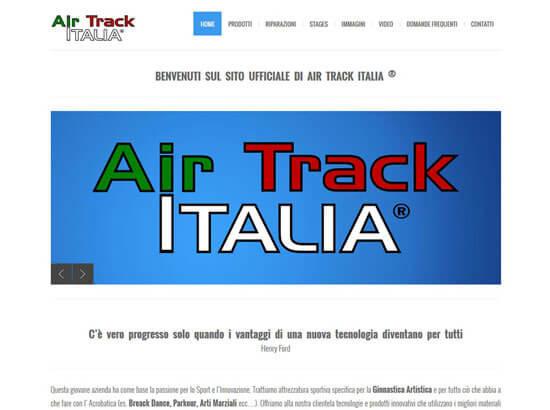 Creazione sito web Air Track Italia S.r.l. | Portfolio FAR