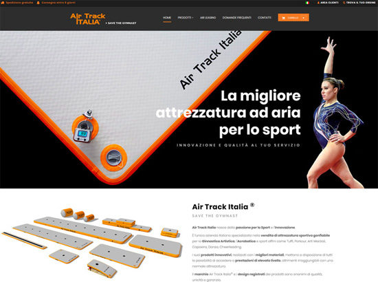 Sito e-commerce airtrackitalia.com