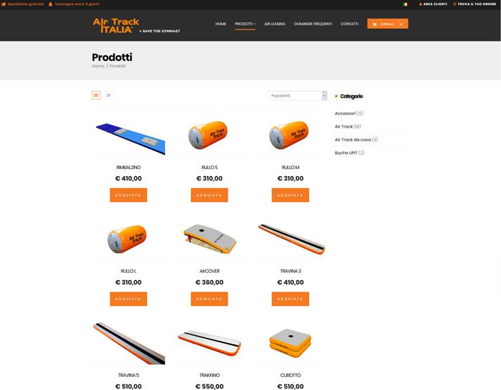 Negozio online airtrackitalia.com