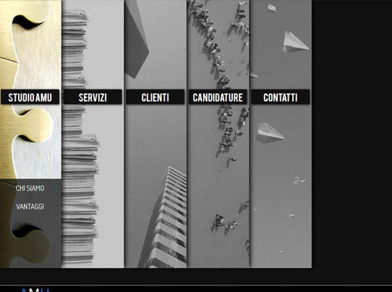 Creazione sito web Amu S.r.l. | Portfolio FAR
