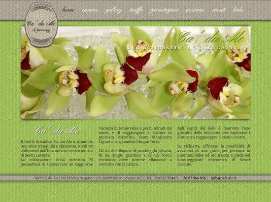 Creazione sito web Ca' du Ale | Portfolio FAR