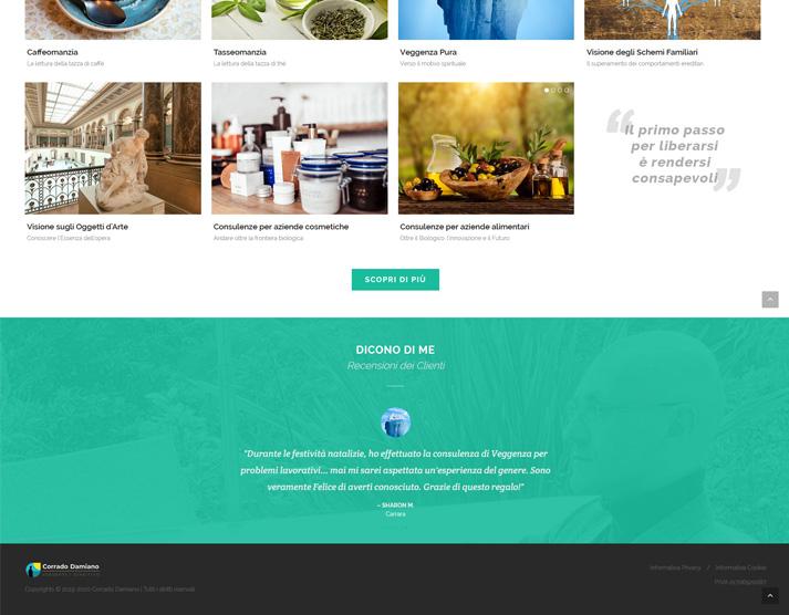 Creazione sito web libero professionista: recensioni clienti