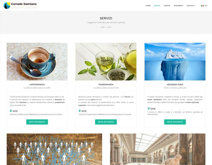 Creazione sito web libero professionista: servizi