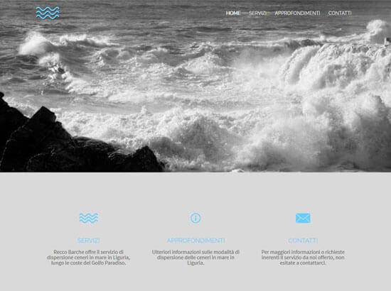 Creazione sito web Recco Barche 1893 S.r.l. | Portfolio FAR