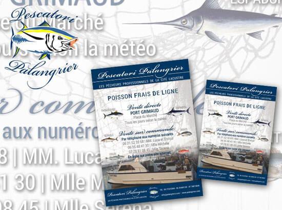 Grafica per la stampa Pescatori Palangrier S.A.R.L. | Portfolio FAR