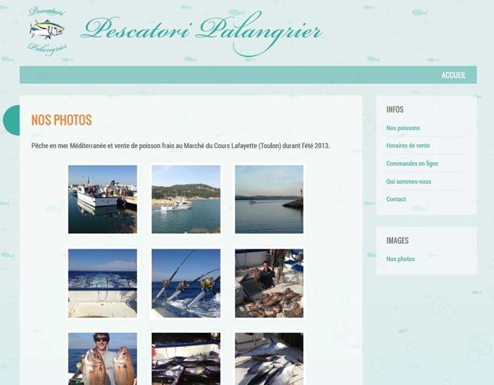 Creazione sito web Pescatori Palangrier: galleria fotografica | Portfolio FAR