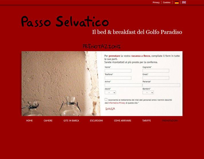 Creazione sito web Passo Selvatico: prenotazioni online | Portfolio FAR