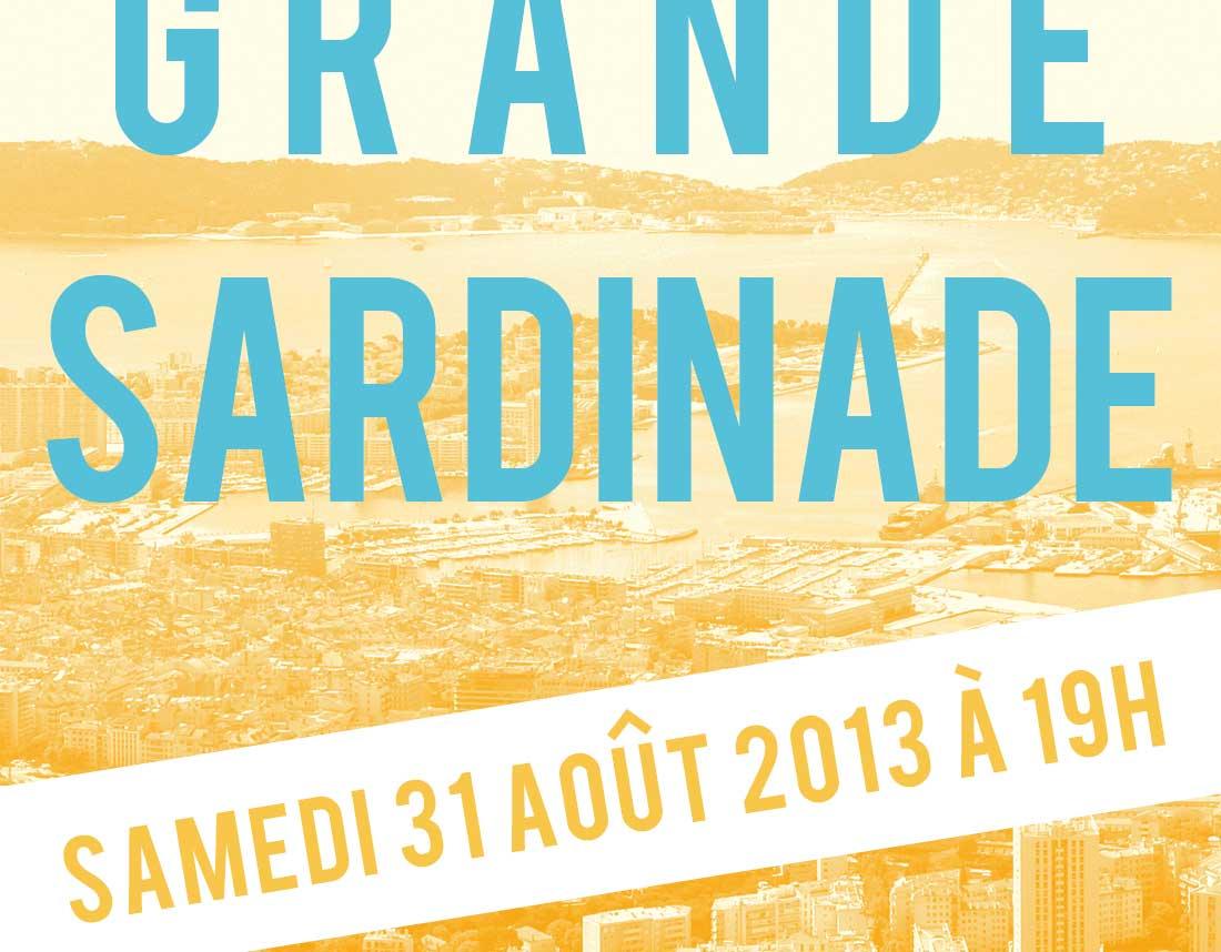 Grafica Grande Sardinade: volantini | Portfolio FAR