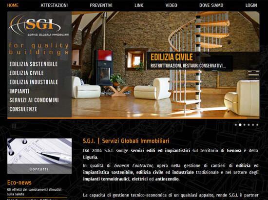 Creazione sito web S.G.I. S.r.l. | Portfolio FAR